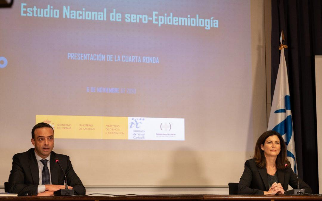 Esta semana comienza la cuarta ronda del estudio nacional de seroprevalencia ENE-COVID