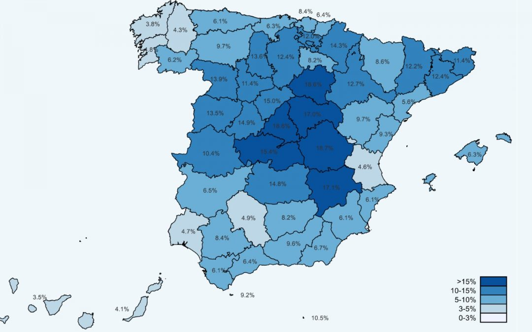 Estudio ENE-COVID: una de cada diez personas en España habría sido infectada por el coronavirus desde el inicio de la pandemia